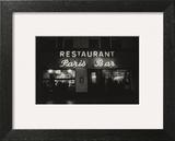Vogue - October 1985 - Paris Restaurant in Berlin Wall Art by Dominique Nabokov