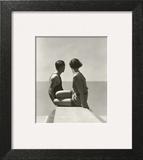 Vogue - July 1930 - Divers Wall Art by George Hoyningen-Huené