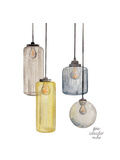 Glass Lanterns Prints by Gina Maher
