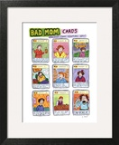 Bad Mom Cards: Collect The Whole Set! - New Yorker Cartoon Art Print by Roz Chast