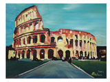 Colloseum Posters by M Bleichner