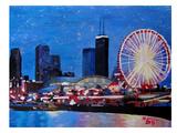 Chicago Wheel Posters by M Bleichner