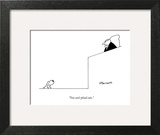 """You can't plead cute."" - New Yorker Cartoon Art Print by Charles Barsotti"