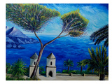 Amalfi Coast Ii Prints by M Bleichner