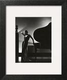 Vogue - November 1935 - Piano Silhouette Art Print by Edward Steichen