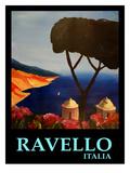 Ravello Amalfi Italy Poster Posters av M Bleichner
