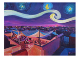 Starry Night In Marrakech Kunstdrucke von M Bleichner