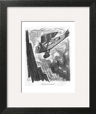 """""""My God, we're out of gin!"""" - New Yorker Cartoon Art Print by Peter Arno"""