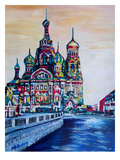 Saint Petersburg Art by M Bleichner