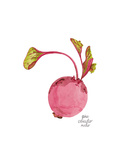 Beet Prints by Gina Maher