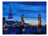 Shard Prints by M Bleichner