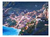 Amalfi Coast I Posters by M Bleichner