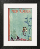 The New Yorker Cover - April 23, 1932 Art Print by E.B. White