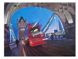 London Tower Bridge With Shard 2 Posters by M Bleichner
