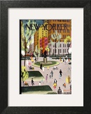 The New Yorker Cover - May 18, 1935 Print by Adolph K. Kronengold
