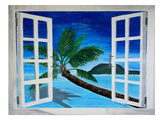 Window To Paradise Posters by M Bleichner