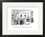 """""""I'm starting a startup that helps other startups start up."""" - New Yorker Cartoon Wall Art by Kaamran Hafeez"""