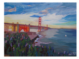 Golden Gate 3 Prints by M Bleichner