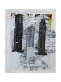Three Towers Print by Enrico Varrasso