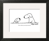 """Cute is whatever you can get away with."" - New Yorker Cartoon Wall Art by Charles Barsotti"