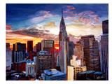 NYC - Midtown 24 Lámina por M Bleichner