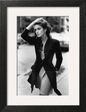 Vogue - February 1988 - Cindy Crawford, 1988 Wall Art by Arthur Elgort