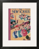 The New Yorker Cover - March 9, 1929 Poster by Theodore G. Haupt