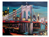 NYC Bridge3 Prints by M Bleichner