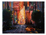San Francisco-Escape From San Francisco In Mustang Print by M Bleichner