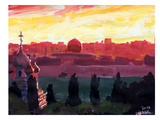 Jerusalem2 Prints by M Bleichner