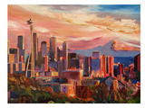Seattle2 Prints by M Bleichner