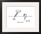 """Will you call me?"" - New Yorker Cartoon Wall Art by Charles Barsotti"