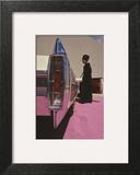 Vogue - November 1964 - Cadillac de Ville Art Print by Gene Laurents
