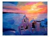 Santorini Ii Prints by M Bleichner