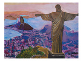 Rio 1 Print by M Bleichner
