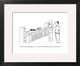 """The two things that really drew me to vinyl were the expense and the inco..."" - New Yorker Cartoon Wall Art by Alex Gregory"
