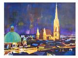 Wien 2 Prints by M Bleichner
