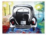 VW Bug Split Window Prints by M Bleichner