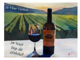 Im Wein Liegt Die Wahrheit Posters by M Bleichner