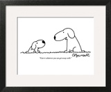 """""""Cute is whatever you can get away with."""" - New Yorker Cartoon Wall Art by Charles Barsotti"""