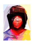 Black Woman 2 Photographic Print by Enrico Varrasso