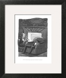 """""""Now read me the part again where I disinherit everybody."""" - New Yorker Cartoon Wall Art by Peter Arno"""