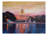 Washington Capitol1 Posters by M Bleichner