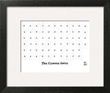 The Comma Sutra. Images of commas in different positions. Play on The Kama… - New Yorker Cartoon Art Print by Paul Noth