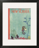 The New Yorker Cover - April 23, 1932 Wall Art by E.B. White