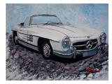 Mercedes Cabrio Prints by M Bleichner