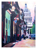 Havana Cuba Street Scene Poster by M Bleichner