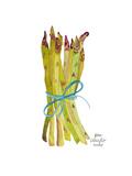 Asparagus Art by Gina Maher