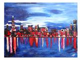 Chicago 1 Art by M Bleichner