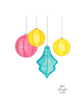 Paper Lanterns Art by Gina Maher